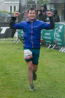 James Hampton - Snowdonia Marathon finish